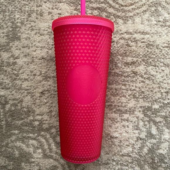 Starbucks 2021 Pink Studded Tumbler